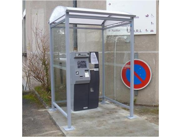 Abri caisse parking Bellecombe